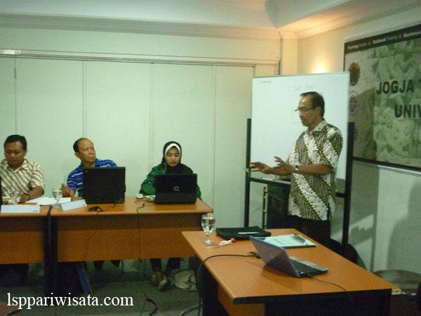 refreshing assessor lsp pariwisata Yogyakarta