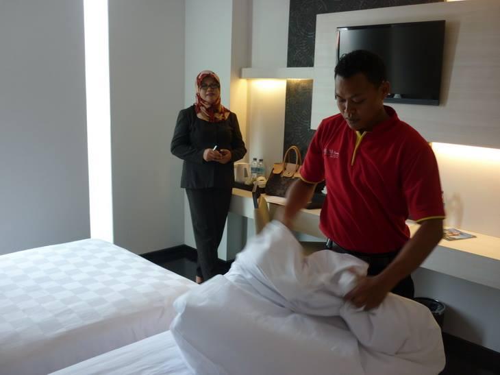 Pengakuan Kompetensi Terkini, Making Bed dengan Asesor Dinia Achmad