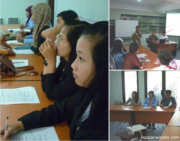 Uji Kompetensi LSP pariwisata DIY SMK 7 Yogyakarta