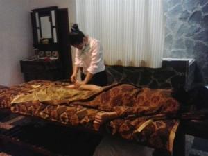 Praktek massage