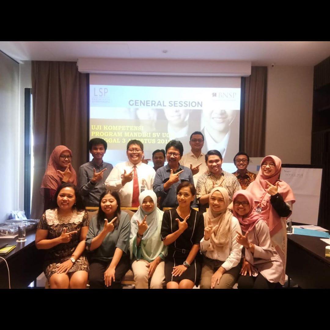 Sertifikasi Uji Kompetensi Program SV UGM
